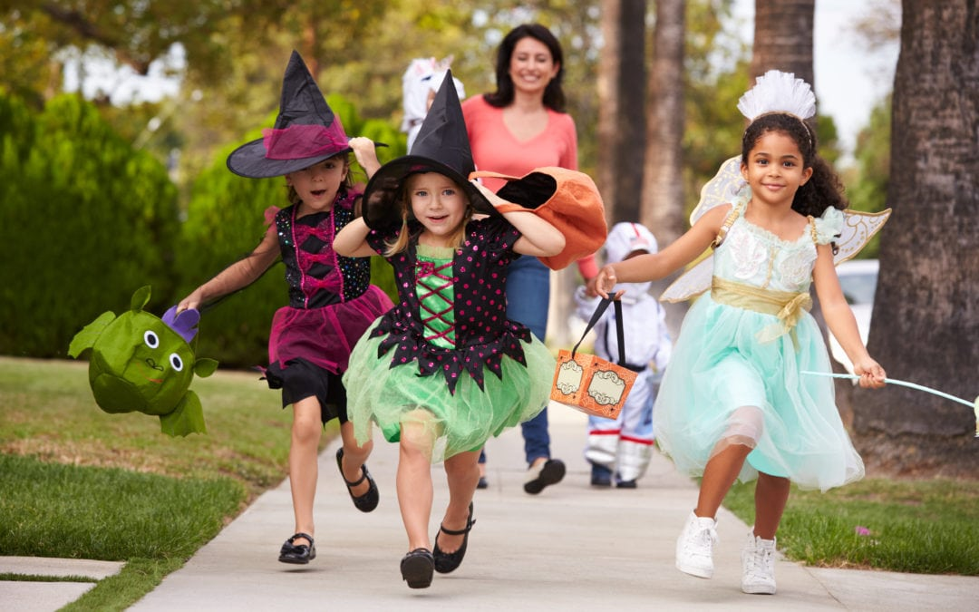 Keeping hearing impaired kids safe this halloween