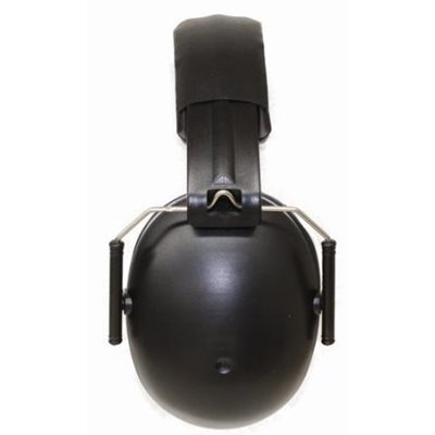 Baby Banz Junior Earmuff - Black from North Houston Hearing Solutions