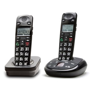 ClearSounds A700 DECT 6.0 Cordless Phone with Answering Machine from North Houston Hearing Solutions