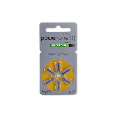 PowerOne MF Batteries Size 10 from North Houston Hearing Solutions