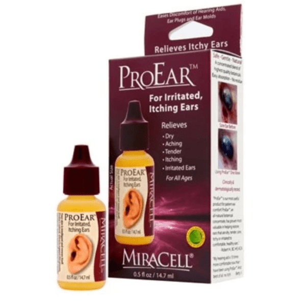 Miracell (0.5 oz bottle) in box from North Houston Hearing Solutions