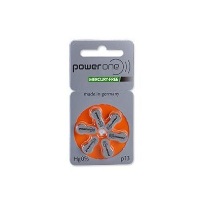 PowerOne MF Batteries Size 13 from North Houston Hearing Solutions