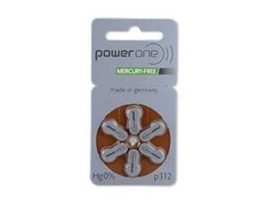 PowerOne MF Batteries Size 312 from North Houston Hearing