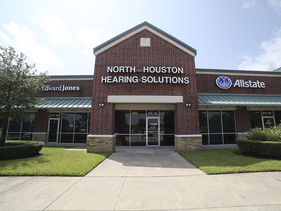 The Front Entrance of North Houston Hearing